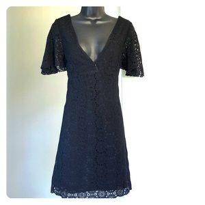 JENNI KAYNE sz 2 black lace dress